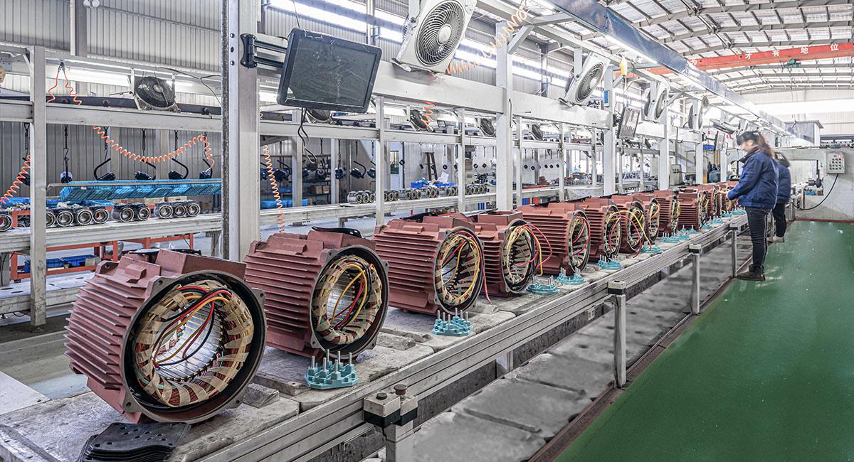 鑫特电机-标准生产