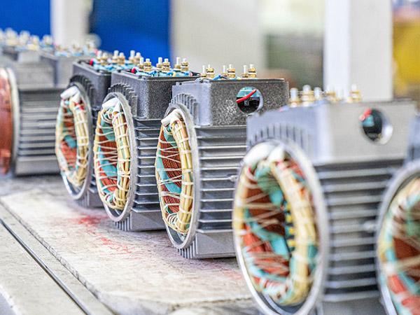 自来水水厂变频电机定制案例