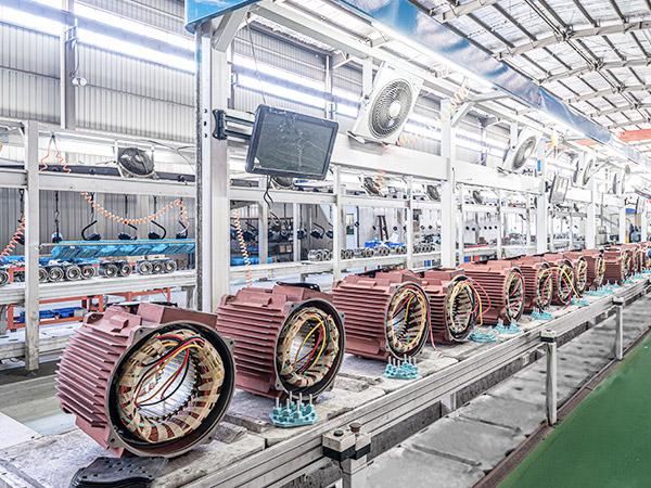 纺织行业三相异步电机定制案例